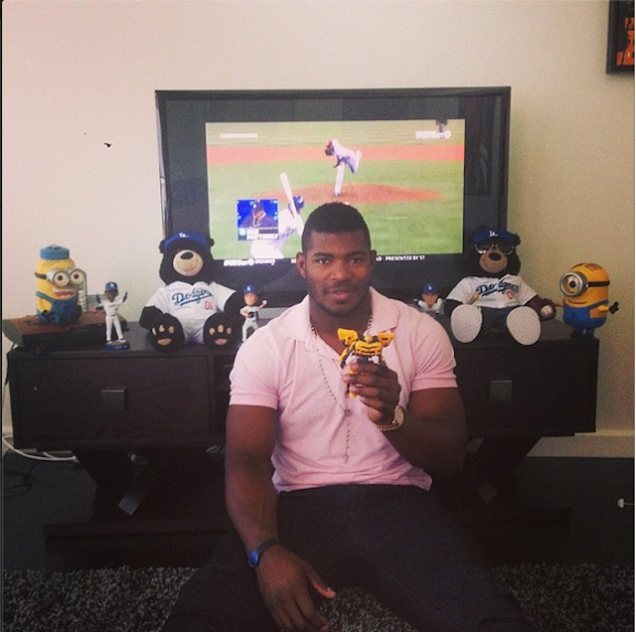 via Yasiel Puig's Instagram account.